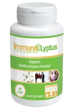 DROPPED: Health From The Sun - Immuno-Lyptus - 90 Capsules