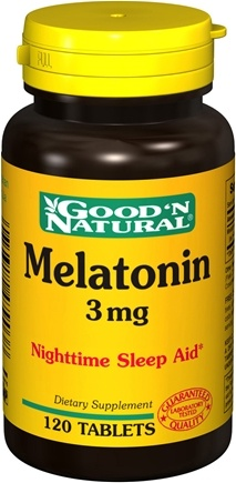 DROPPED: Good 'N Natural - Melatonin 3 mg. - 120 Tablets