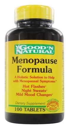 DROPPED: Good 'N Natural - Menopause Relief - 100 Tablets