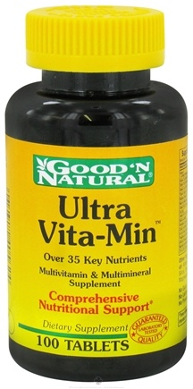 DROPPED: Good 'N Natural - Ultra Vita-Min - 100 Tablets