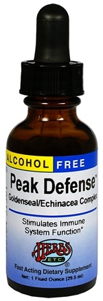DROPPED: Herbs Etc - Peak Defense Alcohol Free - 1 oz. CLEARANCE PRICED