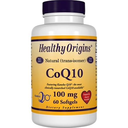 Healthy Origins - CoQ10 Kaneka Q10 Gels 100 mg. - 60 Softgels