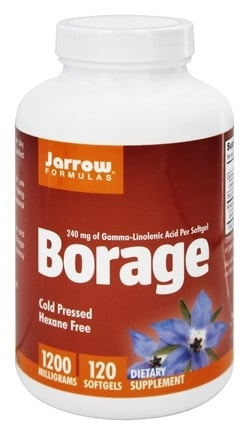 Jarrow Formulas - Borage GLA-240 - 120 Softgels
