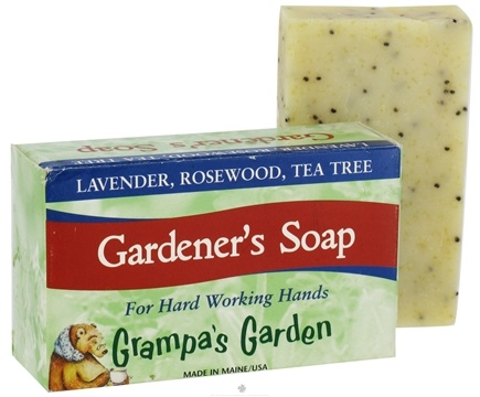 DROPPED: Grampa's Garden - Gardener's Soap - 4 oz. CLEARANCE PRICED