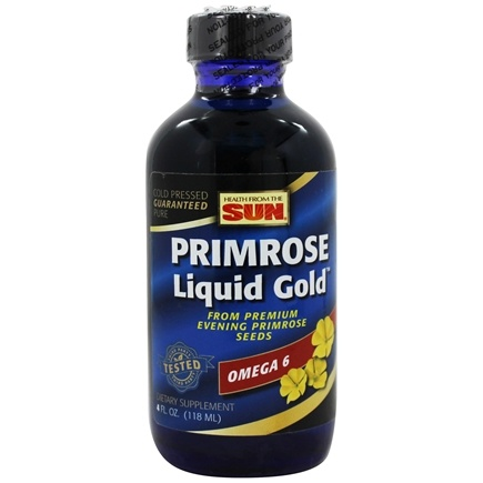 Health From The Sun - Omega-6 Evening Primrose Liquid Gold - 4 oz.
