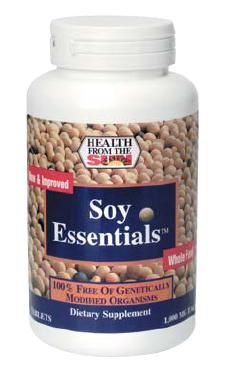 DROPPED: Health From The Sun - Soy Essentials - 60 Tablets