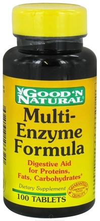 DROPPED: Good 'N Natural - Multi-Enzyme Formula - 100 Tablets