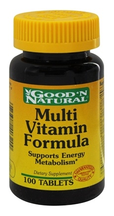DROPPED: Good 'N Natural - Multi-Vitamin Formula Vitamins Minerals Amino Acids - 100 Tablets