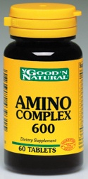 DROPPED: Good 'N Natural - Natural (Free Form)Amino Complex 600 - 60 Tablets