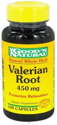 Good 'N Natural - Valerian Root 450 mg. - 100 Capsules