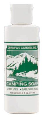 DROPPED: Grampa's Garden - Camping Soap Liquid - 4 oz.