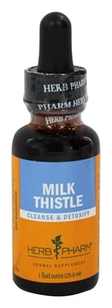 Herb Pharm - Milk Thistle Extract - 1 oz.