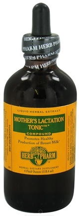 DROPPED: Herb Pharm - Mothers Lactation Tonic Compound - 4 oz. CLEARANCE PRICED