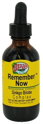 DROPPED: Herbs Etc - Remember Now - 2 oz. CLEARANCE PRICED