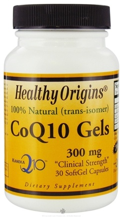 DROPPED: Healthy Origins - CoQ10 Kaneka Q10 Gels 300 mg. - 30 Softgels CLEARANCE PRICED