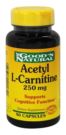 DROPPED: Good 'N Natural - Acetyl L-Carnitine 250 mg. - 90 Capsules