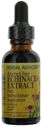 DROPPED: Herbal Authority - Echinacea Alcohol Free - 1 oz. Formerly called Good 'N Natural