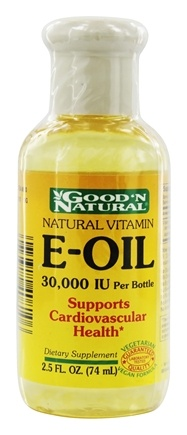 Good 'N Natural - E-Oil d-Alpha Tocopherol 30000 IU - 2.5 oz.