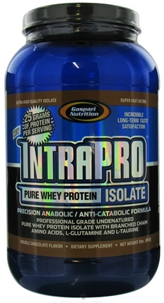 DROPPED: Gaspari Nutrition - IntraPro Pure Whey Protein Isolate Double Chocolate - 2 lbs.