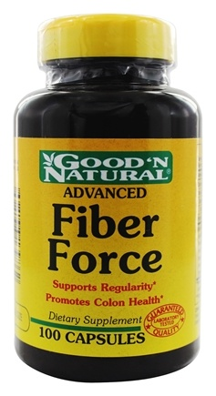 DROPPED: Good 'N Natural - Advanced Fiber Force - 100 Capsules