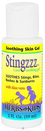 DROPPED: Herbs for Kids - Stingzzz Soothing Gel - 2 oz. CLEARANCE PRICED