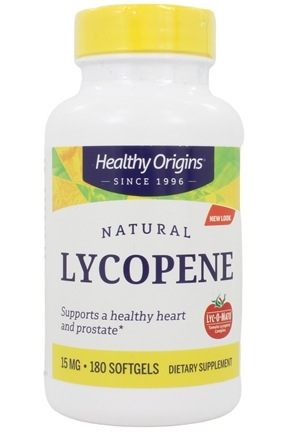 Healthy Origins - Lyc-O-Mato Tomato Lycopene Complex 15 mg. - 180 Softgels