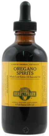 DROPPED: Herb Pharm - Oregano Spirits Extract - 4 oz.