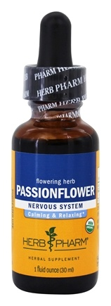 DROPPED: Herb Pharm - Passionflower Extract - 1 oz.