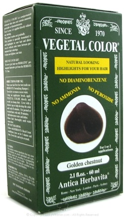 DROPPED: Herbatint - Vegetal Color Golden Chestnut - 2 oz.