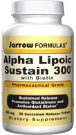 DROPPED: Jarrow Formulas - Alpha Lipoic Sustain with Biotin 300 mg. - 30 Vegetarian Tablets