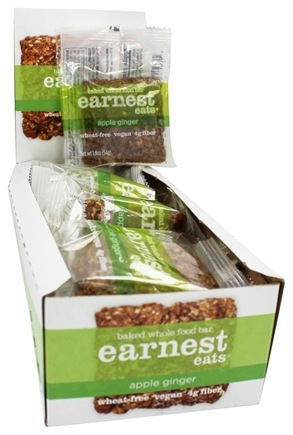 DROPPED: Earnest Eats - Baked Whole Food Bar Apple Ginger Spice - 1.9 oz.