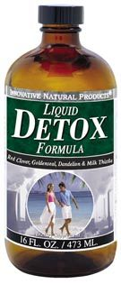 DROPPED: Innovative Natural - Detox Formula Liquid - 16 oz.