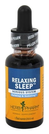 Herb Pharm - Relaxing Sleep Tonic Compound - 1 oz.