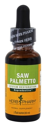 Herb Pharm - Saw Palmetto Extract - 1 oz.