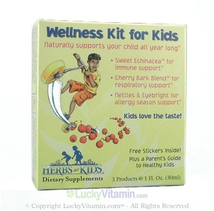 DROPPED: Herbs for Kids - Wellness Kit for Kids
