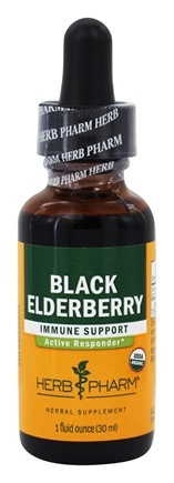 DROPPED: Herb Pharm - Black Elderberry Extract - 1 oz.
