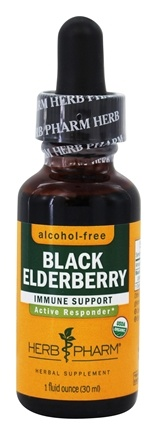 DROPPED: Herb Pharm - Black Elderberry Glycerite - 1 oz.