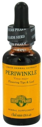 DROPPED: Herb Pharm - Periwinkle Extract - 1 oz. CLEARANCE PRICED