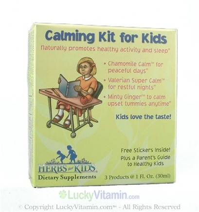 DROPPED: Herbs for Kids - Calming Kit for Kids
