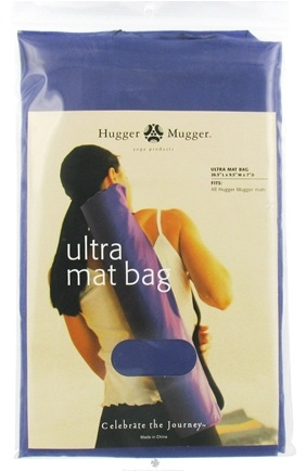 DROPPED: Hugger Mugger Yoga Products - Ultra Mat Bag Purple - Formerly Uinta Mat Bag