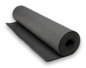 DROPPED: Hugger Mugger Yoga Products - Ultra Tapas Yoga Mat Charcoal
