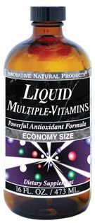 DROPPED: Innovative Natural - Liquid Multiple Vitamins - 16 oz.