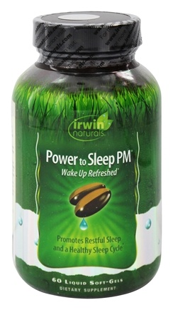 Irwin Naturals - Power to Sleep PM - 60 Softgels