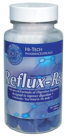 DROPPED: Hi-Tech Pharmaceuticals - Reflux-Rx 600 mg. - 90 Tablets