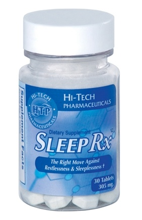 DROPPED: Hi-Tech Pharmaceuticals - Sleep-Rx contains Wild Lettuce Extract 305 mg. - 30 Tablets CLEARANCE PRICED