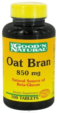 Good 'N Natural - Oat Bran 850 mg. - 100 Tablets