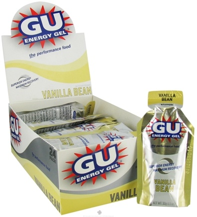 DROPPED: GU Energy - GU Energy Gel with Caffeine Vanilla Bean - 24 Packet(s)