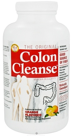DROPPED: Health Plus - Colon Cleanse The Original Naturally Sweetened Orange - 12 oz.