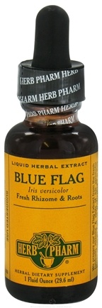 DROPPED: Herb Pharm - Blue Flag Extract - 1 oz. CLEARANCE PRICED