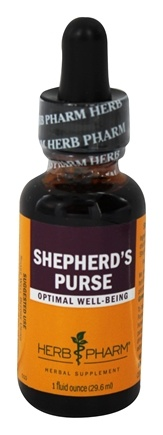 Herb Pharm - Shepherd's Purse Extract - 1 oz.